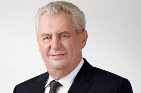 Tổng thống Milos Zeman mong muốn cân bằng cán cân thương mại Séc–Việt