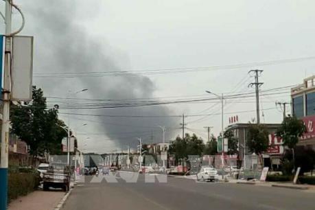 Thông tin mới nhất về vụ nổ nhà máy hóa dầu ở Trung Quốc