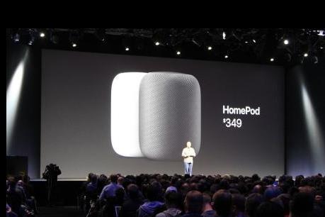 Apple giới thiệu loa thông minh HomePod