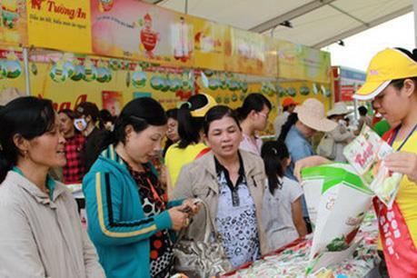 Hơn 400 gian hàng tham gia Hội chợ hàng Việt Nam chất lượng cao Đà Nẵng 2017