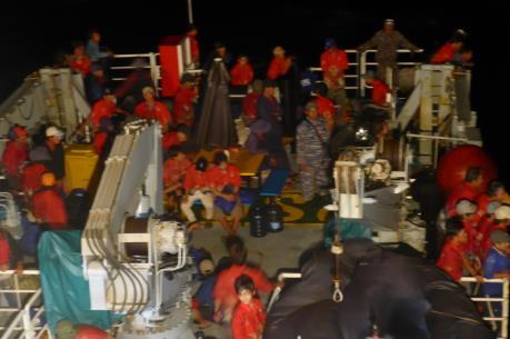 Indonesia hoàn tất thủ tục đợt trao trả ngư dân Việt Nam lớn nhất