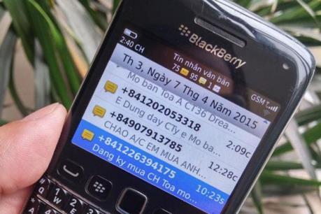 Mạnh tay xử lý tin nhắn rác quấy nhiễu người dùng