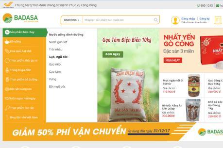Ra mắt sàn thương mại điện tử đặc sản đầu tiên tại Việt Nam