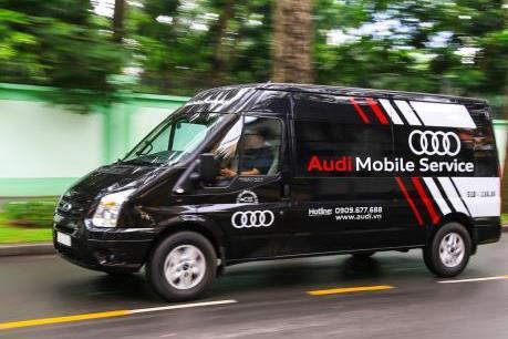Audi chính thức ra mắt dịch vụ lưu động phục vụ APEC 2017