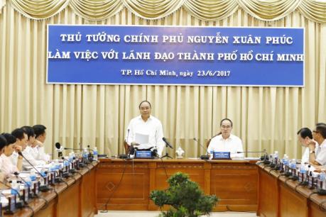 Thủ tướng:Tp.Hồ Chí Minh phải là môi trường khởi nghiệp thuận lợi