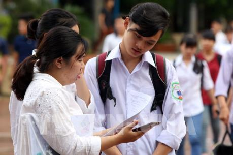 Các trường đại học bắt đầu công bố ngưỡng điểm xét tuyển
