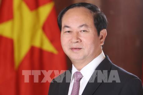Chủ tịch nước Trần Đại Quang và Phu nhân lên đường thăm chính thức Cộng hòa Belarus