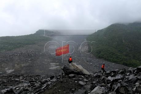 Vụ lở đất tại Trung Quốc: Vẫn có nguy cơ xảy ra lở đất ở Tứ Xuyên