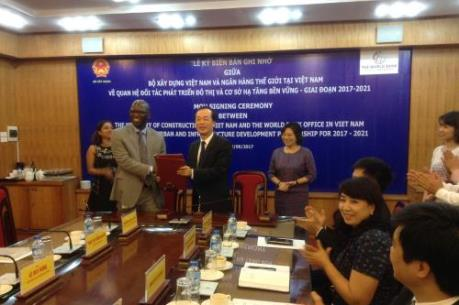 Bộ Xây dựng và World Bank hợp tác phát triển đô thị, hạ tầng