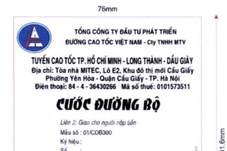 Nhận diện vé giả đi cao tốc Tp. Hồ Chí Minh Long Thành Dầu Giây