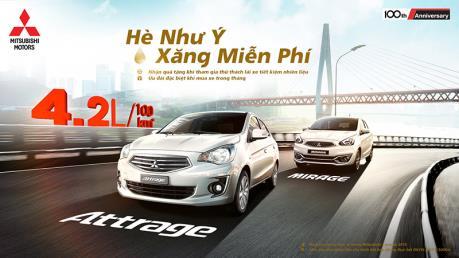 Mitsubishi Motors Việt Nam tiếp tục giảm giá xe ô tô đến 130 triệu đồng