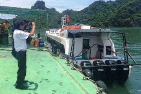 """Làm rõ hành vi tàu """"siêu tốc"""" Quang Minh 86 dừng để tiếp nhiên liệu trên biển"""