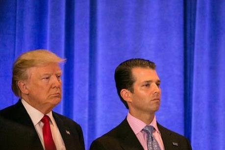 Con trai Tổng thống Mỹ gặp luật sư Nga liên quan đến cuộc bầu cử năm 2016