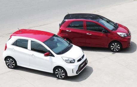 Thaco giảm giá xe Kia Morning cạnh tranh với đối thủ Hyundai Grand i10