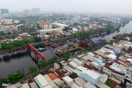 Tp. HCM: Hỗ trợ người dân bị sụn lún nhà khi thi công dự án chống ngập