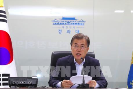 Tổng thống Hàn Quốc kêu gọi người dân ngừng rải truyền đơn chống Triều Tiên
