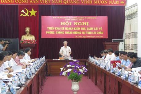 Kiểm tra, giám sát việc xử lý các vụ án tham nhũng, kinh tế nghiêm trọng tại Lai Châu
