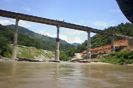 Thủy điện Bắc Hà xả nước, lũ trên sông Chảy có thể lên trên báo động 2