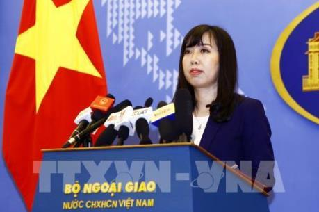 Đề nghị Trung Quốc chấm dứt và không lặp lại hành động làm phức tạp tình hình ở Biển Đông