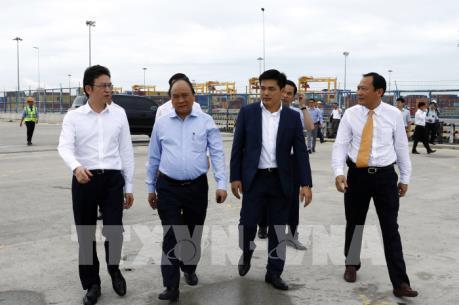Thủ tướng Nguyễn Xuân Phúc đề nghị Cảng quốc tế Cái Mép tiến tới mô hình chính quyền cảng