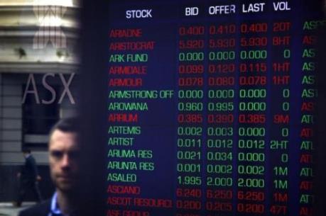 Chứng khoán châu Âu giảm điểm do số liệu gây thất vọng từ các doanh nghiệp lớn