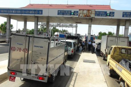 Trên 9.500 phương tiện được miễn phí khi qua trạm Quán Hàu