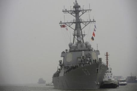 Một lính thủy trên tàu khu trục USS Stethem của hải quân Mỹ mất tích trên Biển Đông