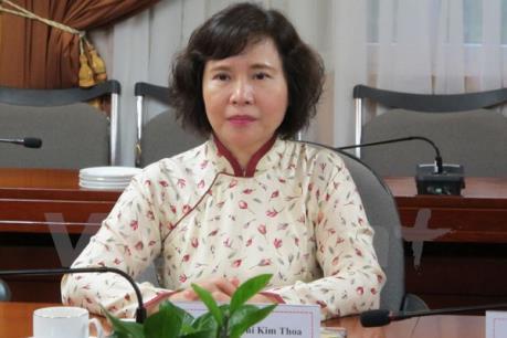 Bộ Công Thương xác nhận đơn xin nghỉ việc của Thứ trưởng Hồ Thị Kim Thoa