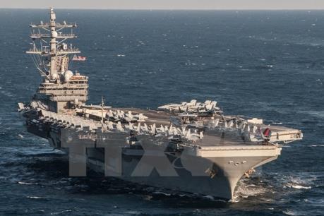 Mỹ cân nhắc điều 2 tàu sân bay tới Bán đảo Triều Tiên