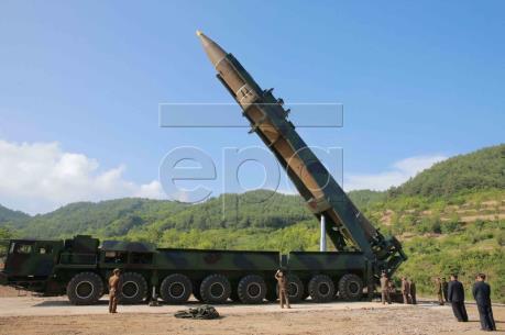 Vụ phóng tên lửa của Triều Tiên: Nhật Bản, Mỹ và Hàn Quốc gây sức ép lên Triều Tiên