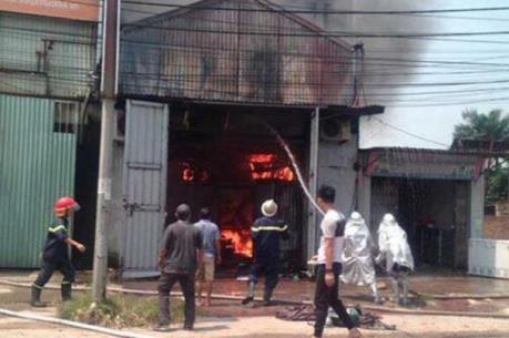 Vụ cháy nhà xưởng khiến 8 người tử vong: Bắt khẩn cấp thợ hàn xì