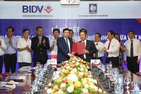 BIDV và VINASME ký thỏa thuận hợp tác giai đoạn 2017-2022