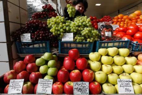 Nga mở rộng danh sách cấm vận thực phẩm các nước phương Tây