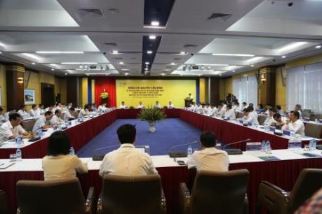 Trưởng Ban Kinh tế Trung ương Nguyễn Văn Bình làm việc với EVN