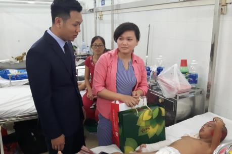 Địa ốc Kim Phát và Việt Hưng Phát hỗ trợ hơn 1,2 tỷ đồng cho Bệnh viện Nhi
