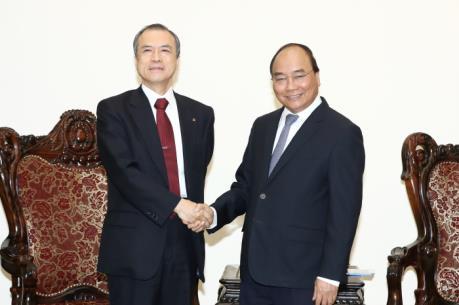 Thủ tướng Nguyễn Xuân Phúc tiếp Công ty Tokyo Gas (Nhật Bản)