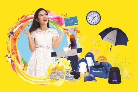 Sacombank tung gói quà tặng hấp dẫn cho khách gửi tiết kiệm VND
