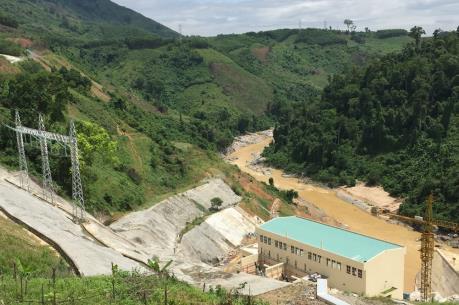 Nhà máy thủy điện Đăk Mi 3 hòa lưới quốc gia
