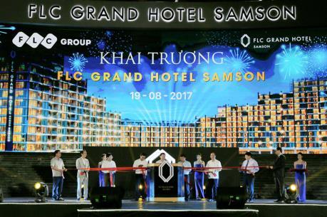 FLC Grand Hotel Samson chính thức vận hành: Kỳ vọng tạo đột phá cho du lịch Sầm Sơn