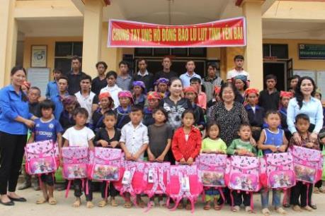 Quỹ từ thiện Kim Oanh ủng hộ 1,8 tỷ đồng cho đồng bào miền núi phía Bắc