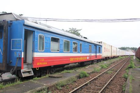Đưa đoàn tàu container lạnh vào chạy tuyến Sóng Thần – Bình Thuận – Yên Viên