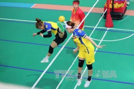 SEA Games 29: Cầu mây nữ giành HCB
