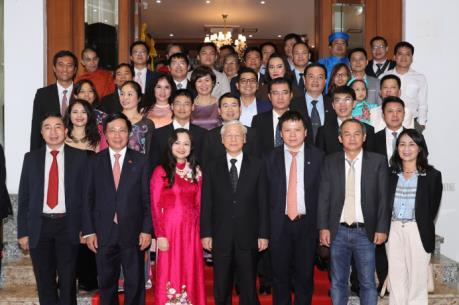 Tổng Bí Thư Nguyễn Phú Trọng thăm Đại sứ quán Việt Nam tại Myanmar