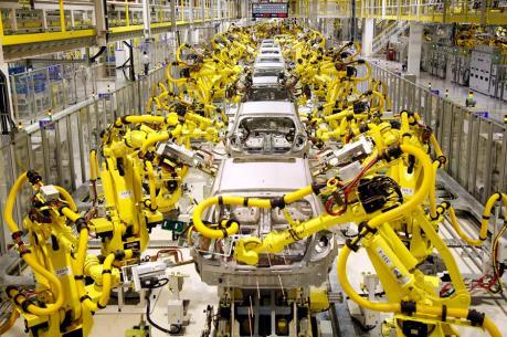 Thị trường robot công nghiệp của Trung Quốc tăng trưởng mạnh