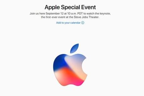 Ra mắt iPhone 8 ngày 12/9 tại nhà hát Steve Jobs