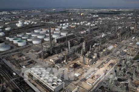 Hoạt động lọc dầu tại Mỹ bị ngưng trệ do bão Harvey