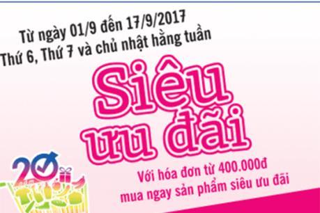 Saigon Co.op giảm giá 50% hàng nghìn sản phẩm
