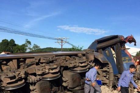 Thông tin chính thức về vụ tai nạn đường sắt nghiêm trọng tại Quảng Bình
