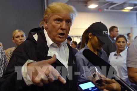 Tổng thống Donald Trump cam kết giúp bang Texas tái thiết sau bão lớn nhất lịch sử Mỹ