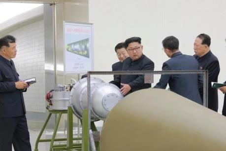 Triều Tiên tuyên bố thử thành công bom H có thể gắn vào tên lửa đạn đạo